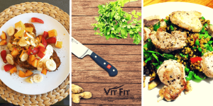 Learn how to cook the most healthy recipes in order to achieve better health, fuel your fitness and improve your body composition.