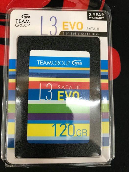 SSD Team L3 EVO 120Gb - 2