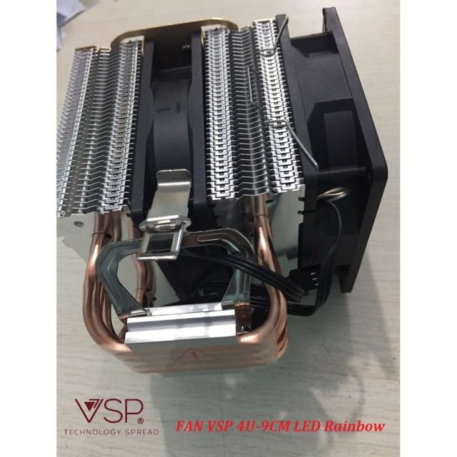Fan CPU VSP 4U-9cm LED chính hãng