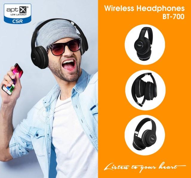 Headphone không dây Soundmax BT-700 bluetooth 4.1
