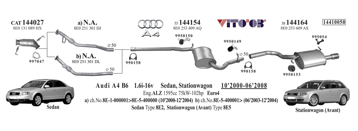 vito03 com exhausts esystems