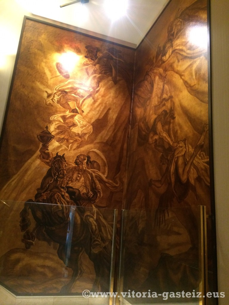 Murales de Tejada para Fournier ©www.vitoria-gasteiz.eus