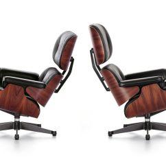 Charles Eames Lounge Chair Blue Bean Bag Vitra Ray