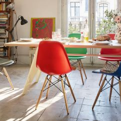 Shell Chair Replica Traditional Accent Chairs Vitra | Eames Plastic Side Dsw
