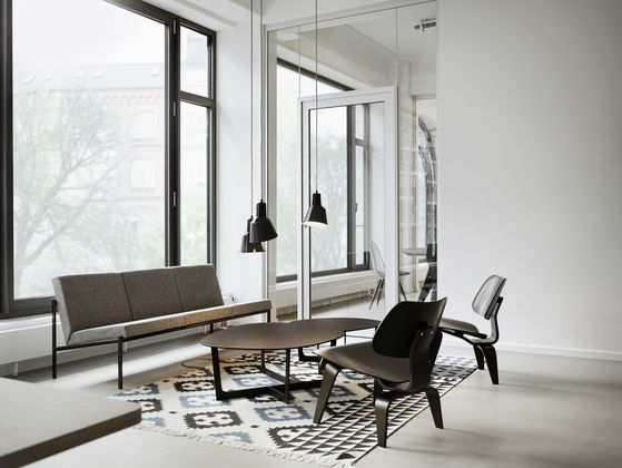 black metal and wood dining chairs covers for ikea tullsta chair vitra | plywood group dcw