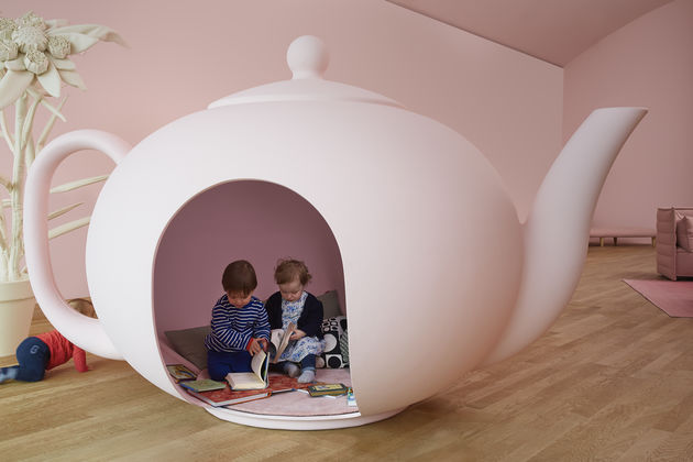 bright sofa hay mag pris vitra | india mahdavi transforms the loft into alice's ...