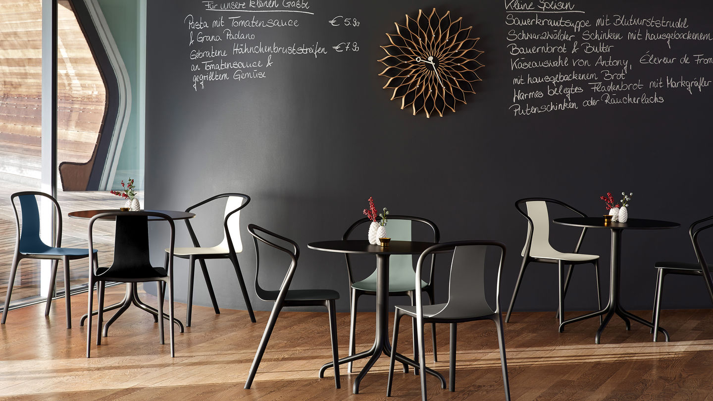 small round chair folding beach chairs costco vitra | belleville table