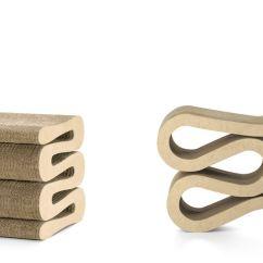 Frank Gehry Chair Ergonomic Reasonable Accommodation Vitra Wiggle Side Stool 1972