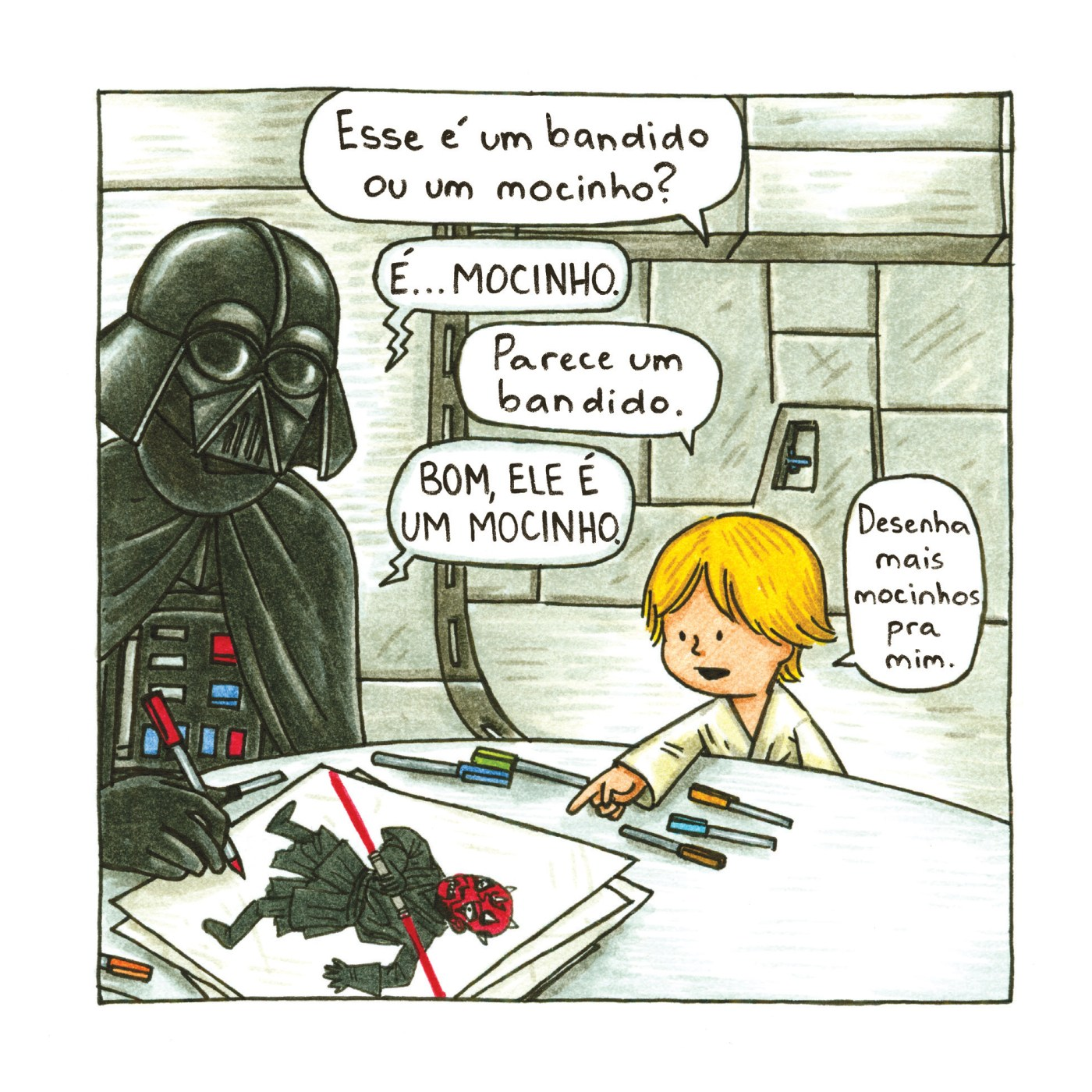 Jeffrey Brown, Darth Vader e filhos