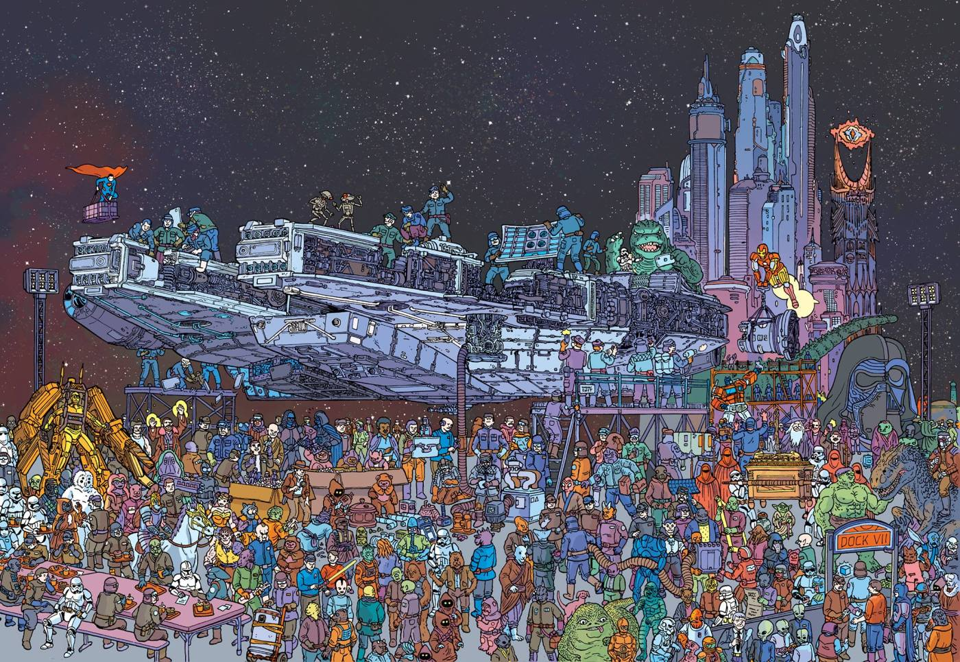 Star Wars, por Ulises Farinas