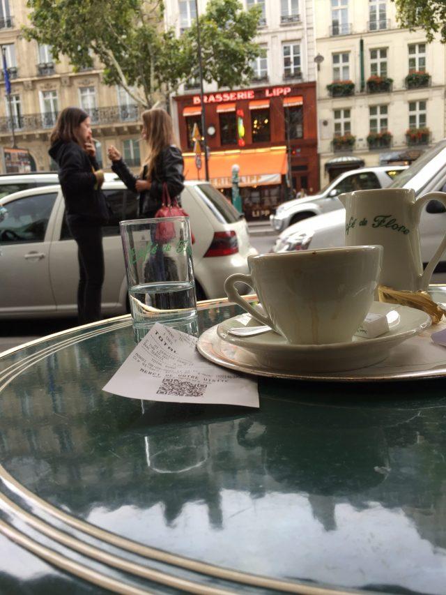 vitraz pariz cafe de flore