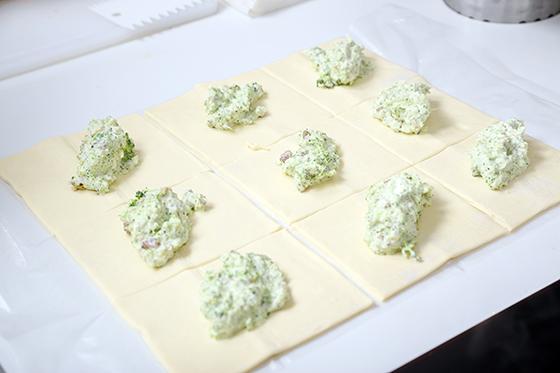 Aperitive sarate cu ton, mozzarella si chilly sau broccoli, nuci si branza