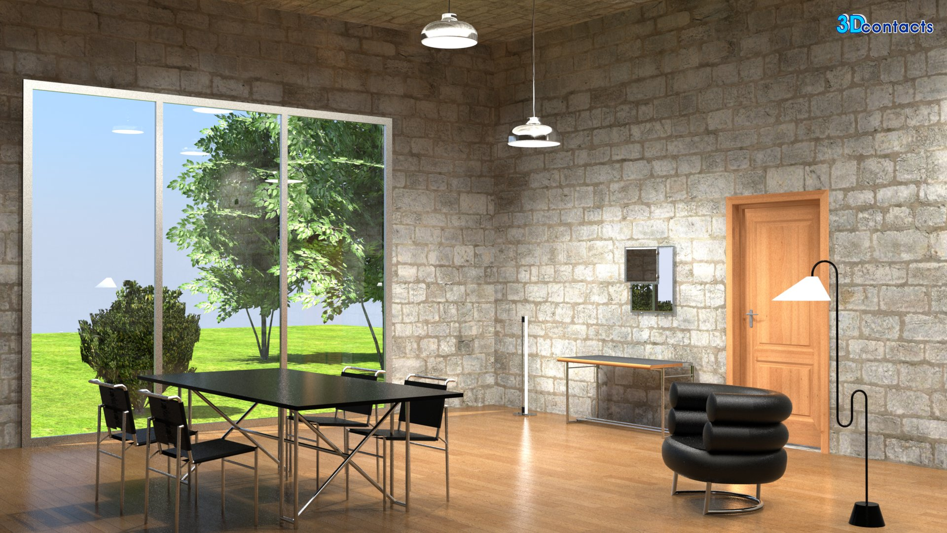 charles eames lounge chair best travel beach 3d contacts - exemples grand format d'images virtuelles