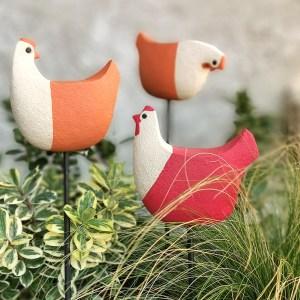 Poulette à planter