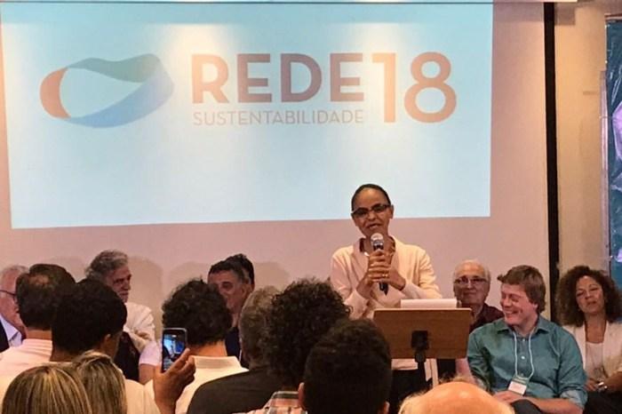 Marina Silva anuncia pré-candidatura a presidente em 2018 pela Rede