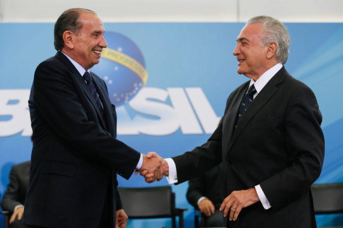 Temer pode nomear embaixador um investigado por corrupção