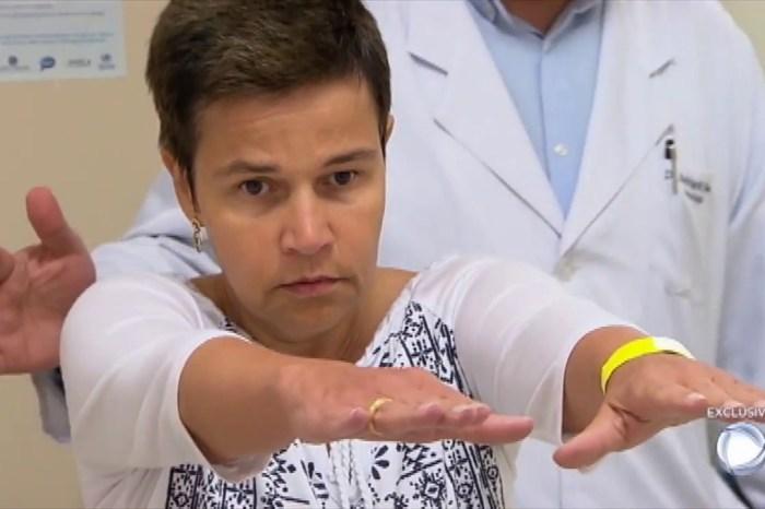 Claudia Rodrigues está internada inconsciente em clínica do RJ