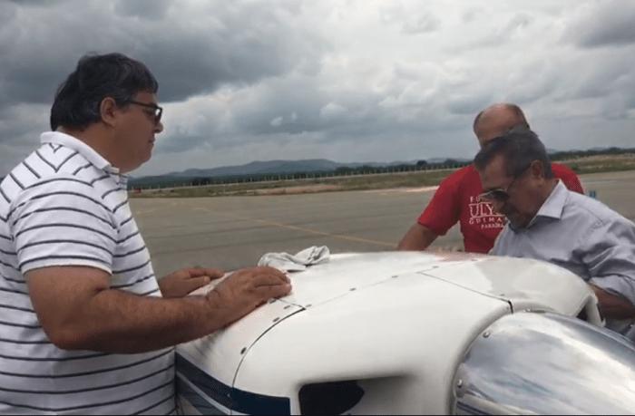 Avião de Maranhão sofre pane e faz pouso emergencial em Cajazeiras