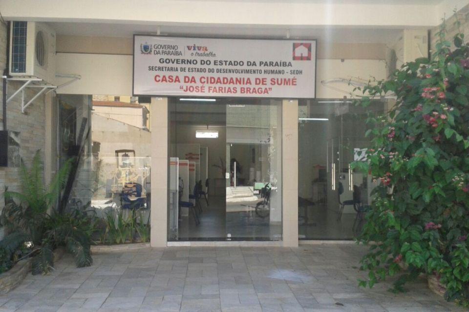 Programa Cidadão ofertará ações itinerantes para emissão de documentos em Sumé