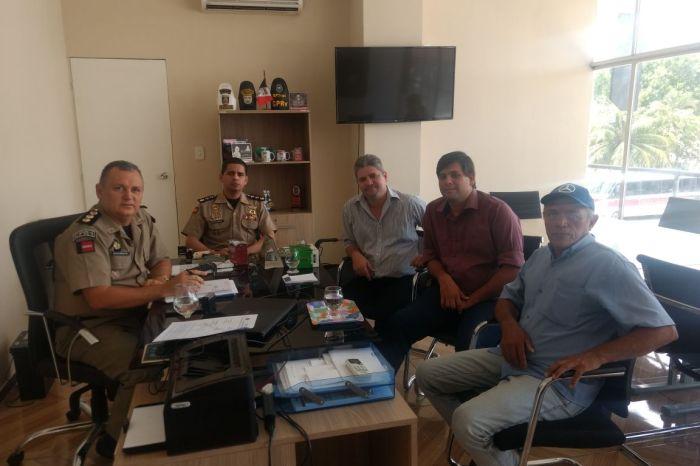 Reforço no policiamento ostensivo é requerido por prefeito caririzeiro