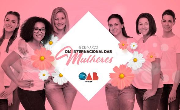 OAB-PB faz homenagem ao Dia da Mulher