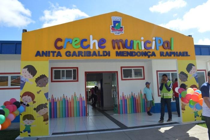 Prefeito Éden inaugura Creche Proinfância em Sumé com capacidade para 120 crianças