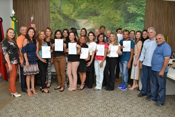 Prefeita de Monteiro empossa novos Agentes Comunitários de Saúde – ACS