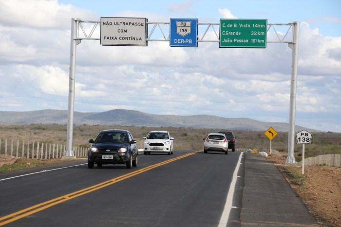 DER-PB iniciará manutenção das rodovias até o final de fevereiro