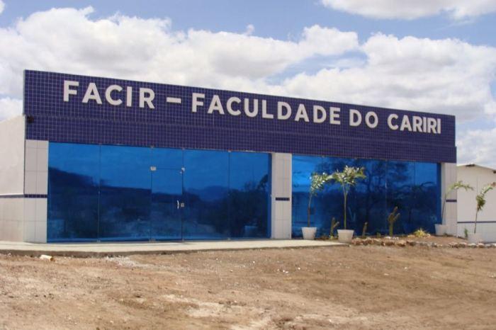 Vestibular da Faculdade do Cariri acontece no dia 25 de novembro na cidade de Sumé