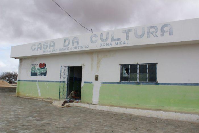 Casa da Cultura em Gurjão passa por ampliação e reforma