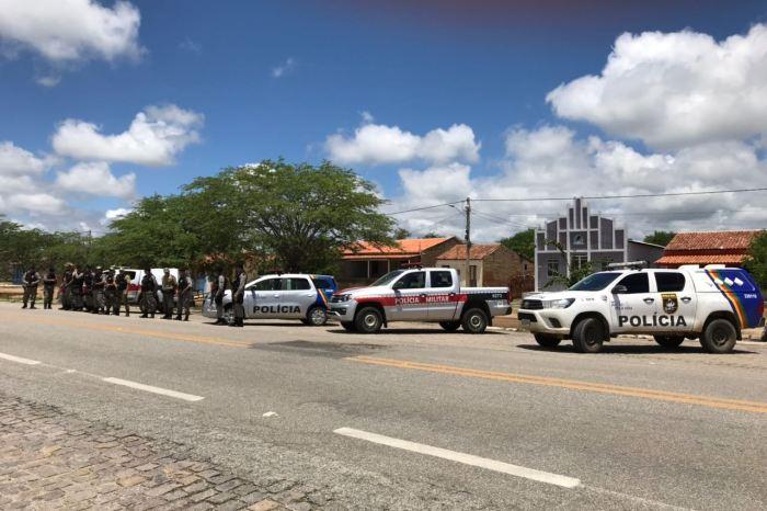 Polícias da PB e PE realizam operação 'Divisa Segura' no Cariri
