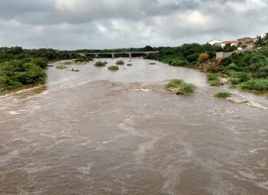 Encontro das águas do Rio Taperoá com o Rio Paraíba