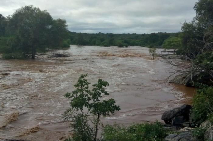 Chuvas no Cariri provoca cheia em rios Paraíba e Taperoá; previsão é de mais chuvas