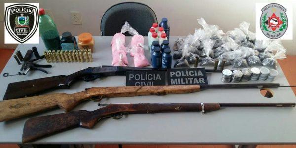 """Policias Civil e Militar  deflagram operação """"Águas de Abril"""" em Boqueirão"""