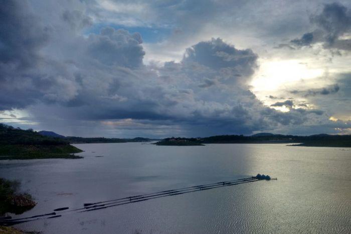 Com cheias dos rios Paraíba e Taperoá, açude de Boqueirão aumenta 43 cm em sua lamina d'água
