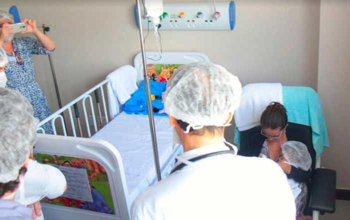 Criança do Cariri é a primeira a fazer cirurgia de coração no Hospital Dom José Maria Pires