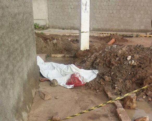 Jovem é assassinado na madrugada deste domingo na cidade de Monteiro