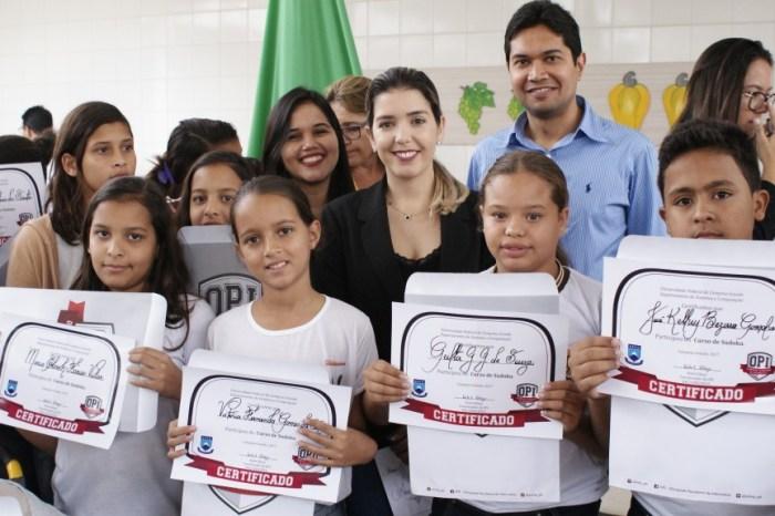 Alunos do município de Monteiro receberão medalhas da Olimpíada de Informática