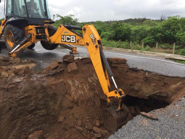 DER garante tráfego normalizado em Barra de São Miguel após obras em 15 dias
