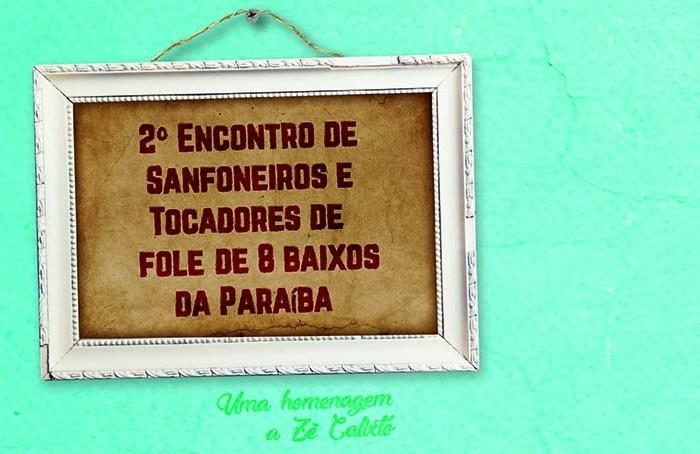 Monteiro será sede do 2º Encontro de Sanfoneiros e Tocadores de Fole de Oito Baixos