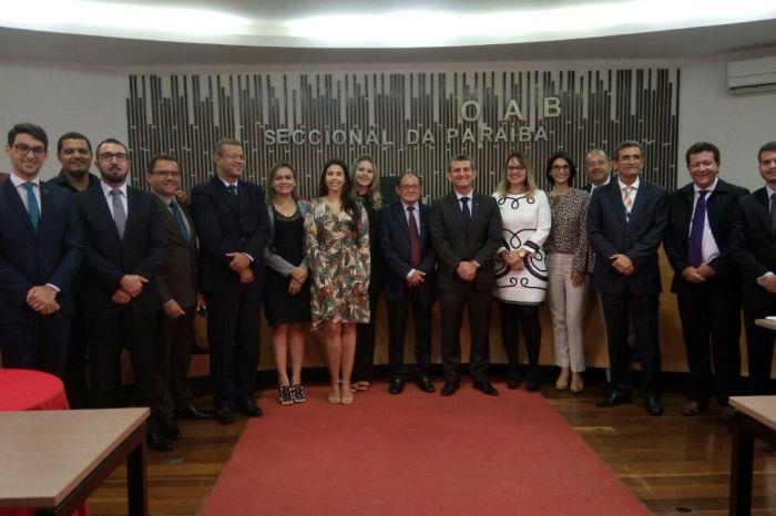 Conselheiros da OAB-PB elegem diretoria provisória da Subseção do Cariri