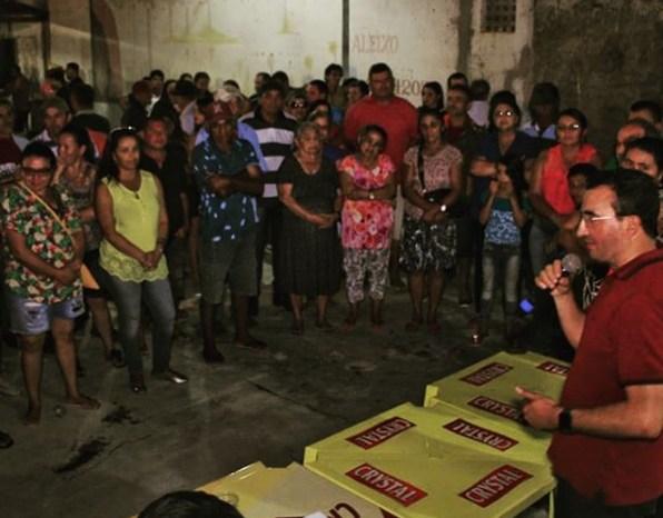 Benjamin visita municípios do Cariri e recebe apoio a sua pré-candidatura na Prata