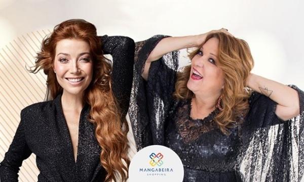 Luiza Possi e Nena Queiroga fazem show gratuito em JP