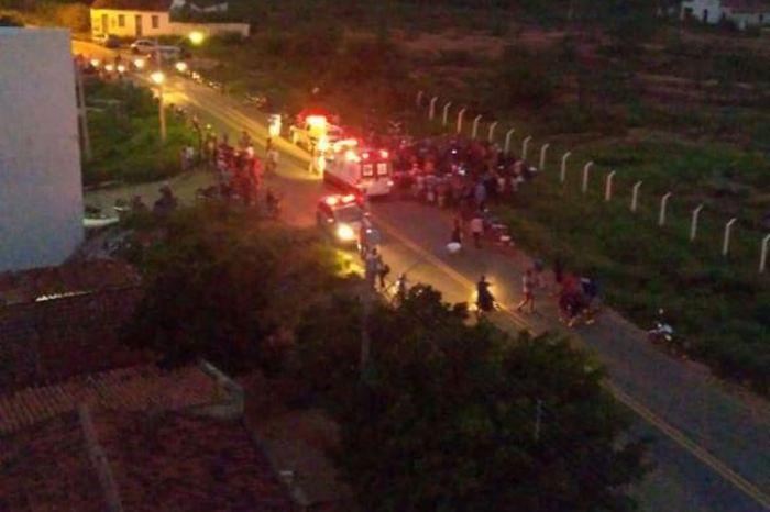 Assassinato é registrado no início da noite desta sexta-feira em cidade do Cariri paraibano