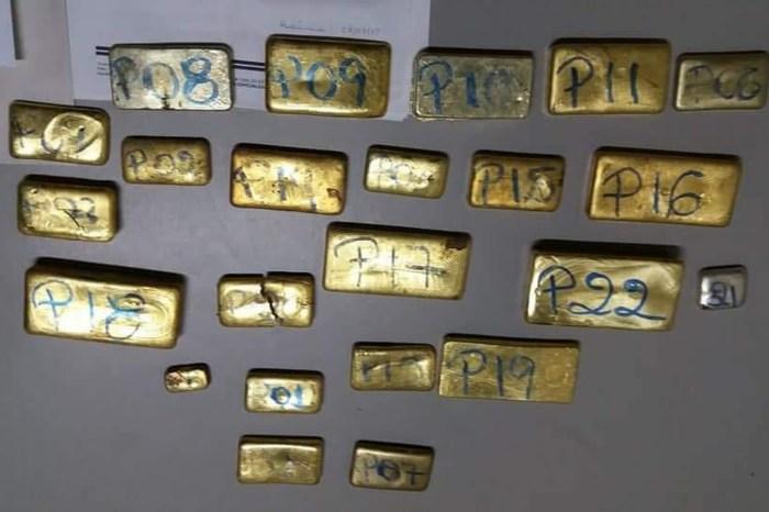 Cerca de 9,5 kg de ouro são achados em destroços de avião no AM