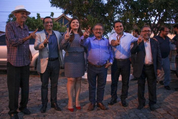 Benjamin Maranhão recebe apoio político de ex-prefeita e quatro vereadores de Parari
