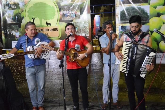 VIII Festival do Umbu realiza programação cultural em Sumé