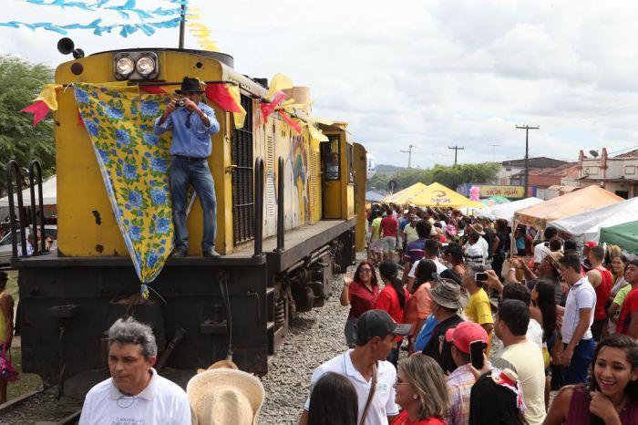 Locomotiva do Forró este ano fará oito viagens a Galante
