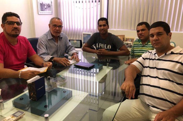 Batinga recebe apoio da diretoria do Sindicato dos Vigilantes da PB