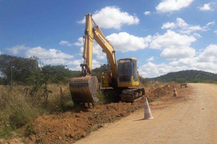 Segurança Hídrica: Obras da adutora do Distrito do Pio X são retomadas em Sumé